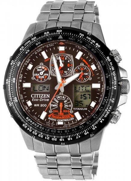 Citizen JY0080-62E Radio Controlled Skyhawk Promaster