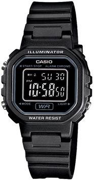 Zegarek damski Casio sportowe LA-20WH-1BEF - duże 1