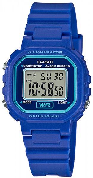 Zegarek damski Casio sportowe LA-20WH-2AEF - duże 3