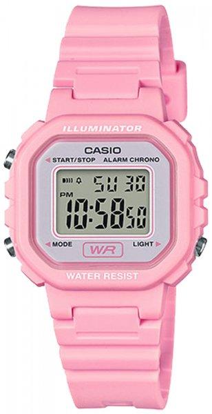 Zegarek damski Casio sportowe LA-20WH-4A1EF - duże 1