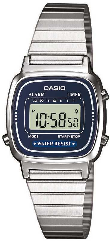 Zegarek damski Casio vintage mini LA670WEA-2EF - duże 1