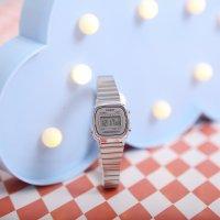 Zegarek damski Casio vintage mini LA670WEA-7EF - duże 2