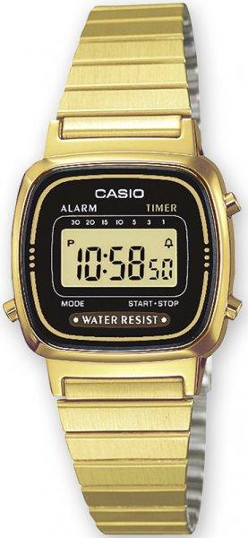 Zegarek damski Casio vintage mini LA670WEGA-1EF - duże 1