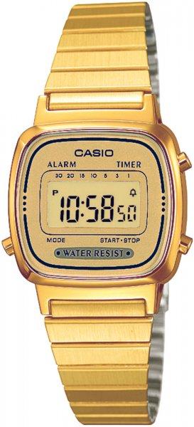 Zegarek Casio LA670WEGA-9EF - duże 1