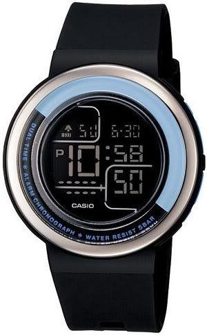 Zegarek damski Casio sportowe LDF-30-1AEF - duże 1