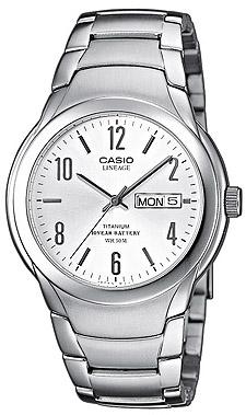 Zegarek męski Casio lineage LIN-172-7A - duże 1