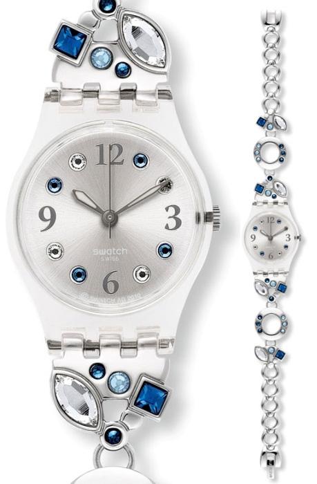 Swatch LK320G Skin Classic Menthol Tone Blue