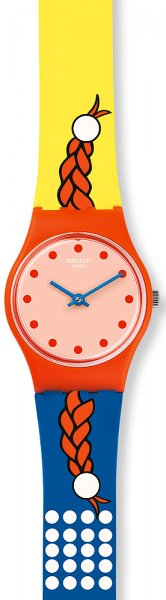 Zegarek Swatch LO110 - duże 1