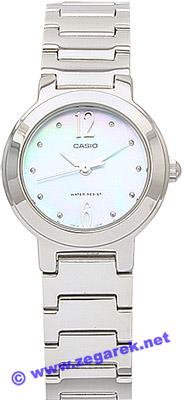Zegarek damski Casio klasyczne LTP-1191A-2A - duże 1
