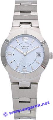 Zegarek damski Casio klasyczne LTP-1241D-2A - duże 1