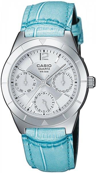 Zegarek damski Casio klasyczne LTP-2069L-7A2VEF - duże 1