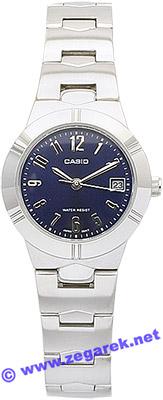 Zegarek Casio LTP1241D-2A2 - duże 1