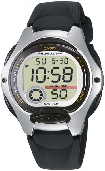 Zegarek damski Casio sportowe LW-200-1AV - duże 1