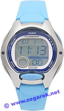 Zegarek damski Casio sportowe LW-200-2B - duże 1