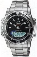 Zegarek męski Casio analogowo - cyfrowe MDV-700D-1A - duże 1
