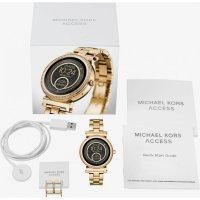 Zegarek damski Michael Kors access smartwatch MKT5021 - duże 3