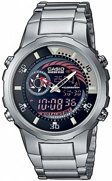 Zegarek męski Casio analogowo - cyfrowe MRP-703D-1AVEF - duże 1