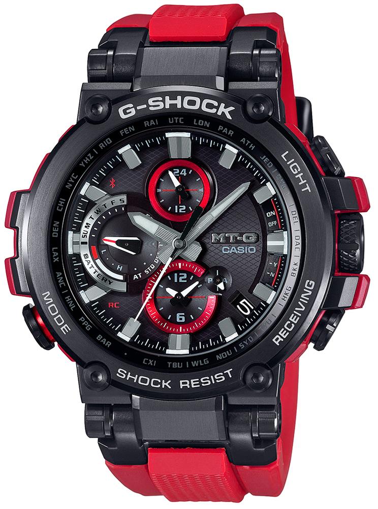 G-Shock MTG-B1000B-1A4ER G-SHOCK Exclusive METAL TWISTED G 2-WAY SYNC