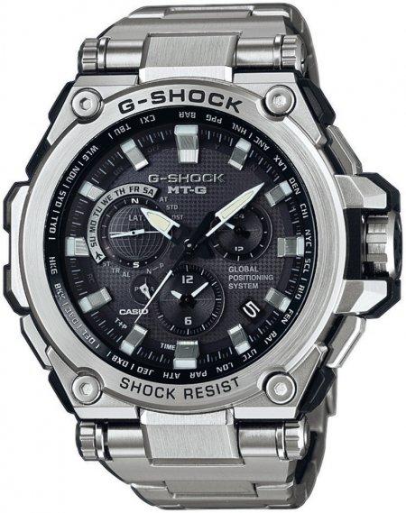 G-Shock MTG-G1000D-1AER G-SHOCK Exclusive METAL TWISTED G GPS HYBRID