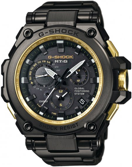 G-Shock MTG-G1000GB-1AER G-SHOCK Exclusive METAL TWISTED G GPS HYBRID