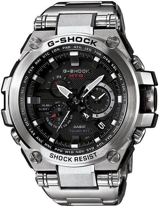 Zegarek G-Shock Casio METAL TWISTED G -męski - duże 3