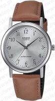 Zegarek męski Casio klasyczne MTP-1095E-7B - duże 1