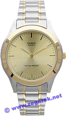 MTP-1128G-9A - zegarek męski - duże 3