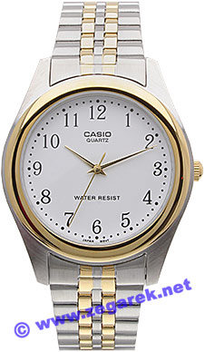 MTP-1129G-7B - zegarek męski - duże 3