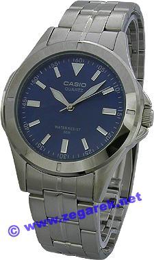 Zegarek męski Casio klasyczne MTP-1214A-2A - duże 1