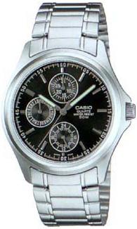 Zegarek męski Casio klasyczne MTP-1246D-1A - duże 1
