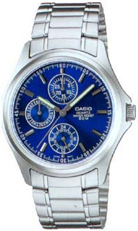 MTP-1246D-2A - zegarek męski - duże 3
