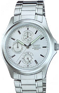 MTP-1246D-7A - zegarek męski - duże 3