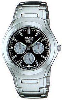 MTP-1247D-1A - zegarek męski - duże 3