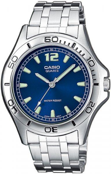 Zegarek męski Casio klasyczne MTP-1258D-2AEF - duże 1