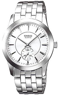 Zegarek męski Casio klasyczne MTP-1270D-7A - duże 1
