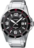 Zegarek męski Casio klasyczne MTP-1291D-1A1VEF - duże 1