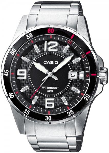 Zegarek Casio MTP-1291D-1A1VEF - duże 1