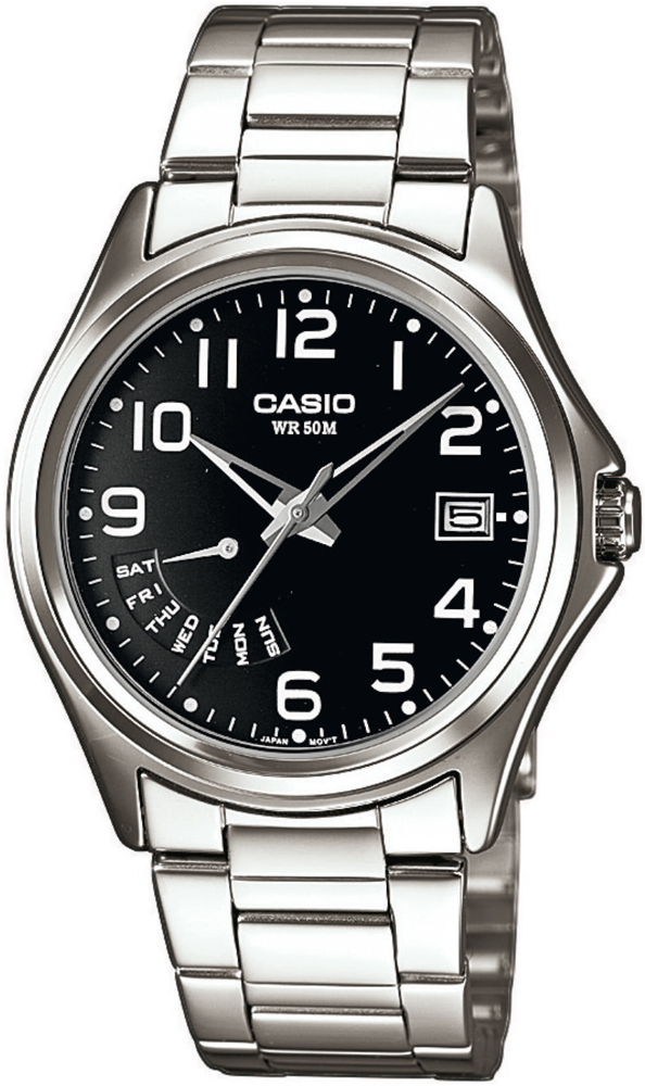 Zegarek męski Casio klasyczne MTP-1369D-1BVEF - duże 1