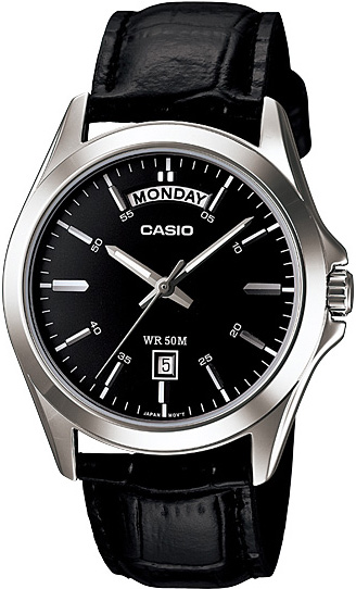 MTP-1370L-1AVEF - zegarek męski - duże 3