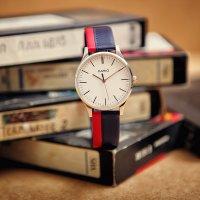 Zegarek damski Casio vintage perfect duo MTP-E133L-2EEF - duże 2