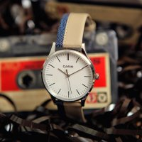 Zegarek męski Casio vintage perfect duo MTP-E133L-7EEF - duże 2