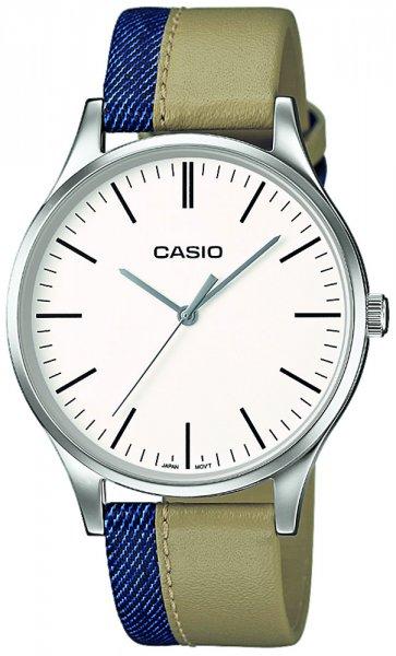 Zegarek męski Casio vintage perfect duo MTP-E133L-7EEF - duże 1