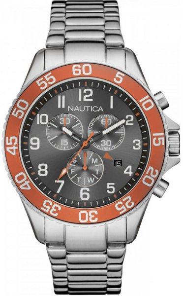 Zegarek męski Nautica bransoleta NAI17511G - duże 3