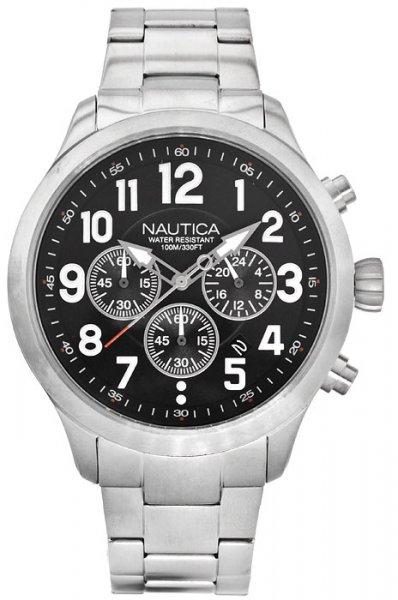 NAI18508G - zegarek męski - duże 3