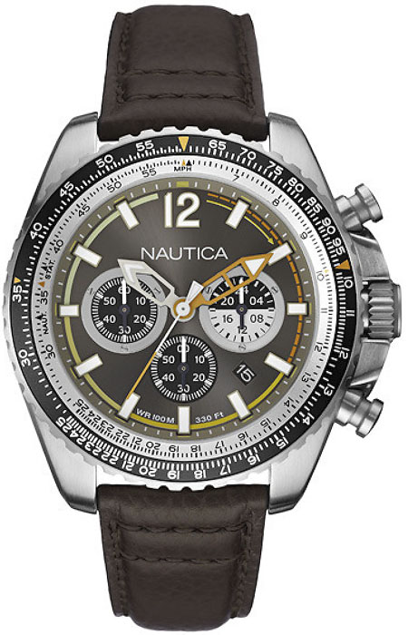 NAI22505G - zegarek męski - duże 3