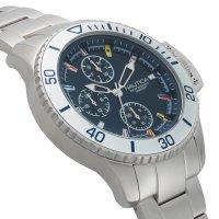 Zegarek męski Nautica bransoleta NAPBYS005 - duże 2