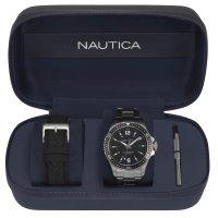 Zegarek męski Nautica bransoleta NAPFRB014 - duże 2