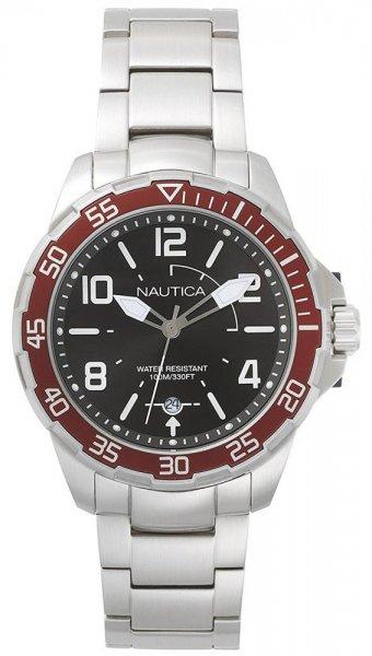 Zegarek męski Nautica bransoleta NAPPLH005 - duże 1