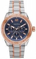 Zegarek męski Nautica bransoleta NAPSTL005 - duże 1