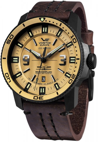 Zegarek Vostok Europe NH35A-546C513 - duże 1